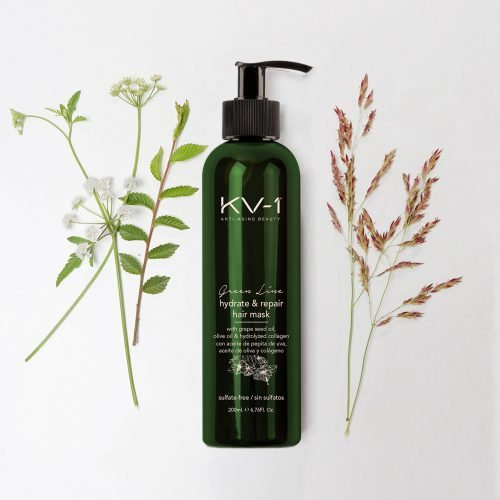 KV-1 Green & Natural Hair Line Hydrate & Repair Hair-Mask