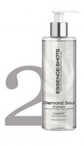 Diamond Soul Hair Botox Shampoo Diamante y Ácido hialurónico KV-1